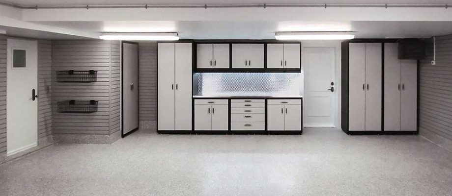 Garage lighting remodels before and after